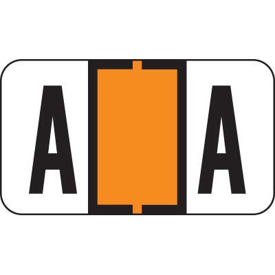 alpha labels on 3 ring binder sheets letter a orange jeter